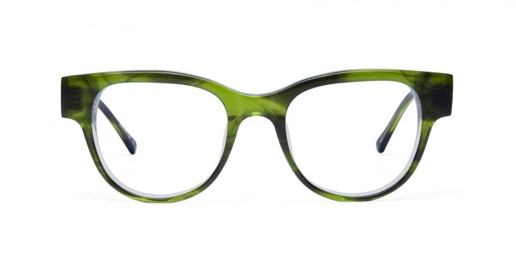 365 NIGHTS I This rounded acetate frame is the update of the month - you got the night scene covered, you are seriously stylish and you are where it happens #inwiththeincrowd.   A KAIBOSH EXCLUSIVE acetate in exotic greens, a real Jungle Jewel.