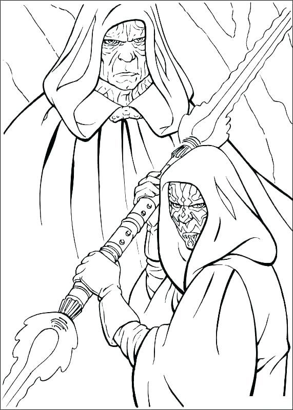 Darth Maul Coloring Pages Best Coloring Pages For Kids Star Wars Drawings Star Wars Coloring Sheet Coloring Pages