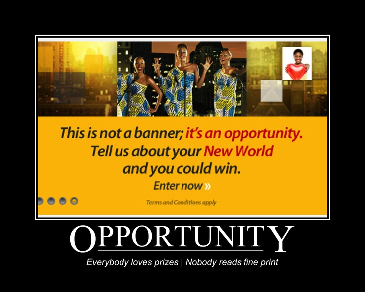 MTN   New world promotion   Banner advertising   Opportunity   South Africa   Source: http://www.mtn.co.za