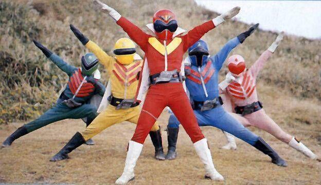 This is where it all started. Himitsu Sentai Goranger.