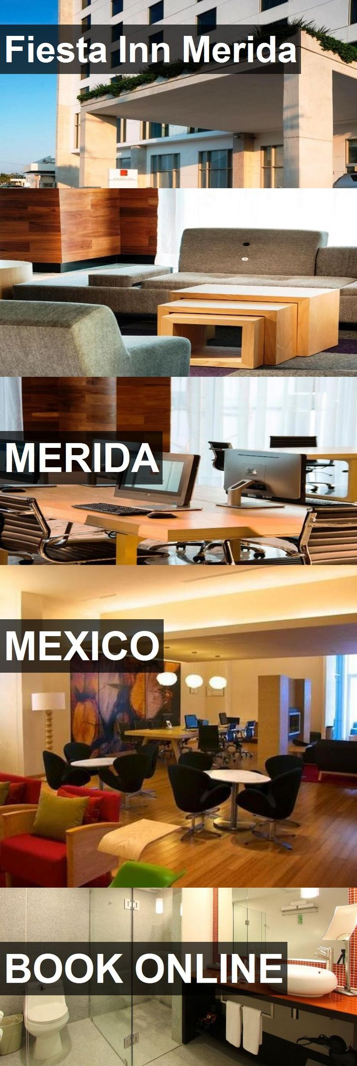 Hotel Fiesta Inn Merida in Merida, Mexico. For more information, photos, reviews and best prices please follow the link. #Mexico #Merida #travel #vacation #hotel