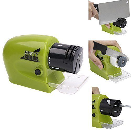 Professional Electric Knife Sharpener Multi-functional Portable Knives Grinder #Ralvxo