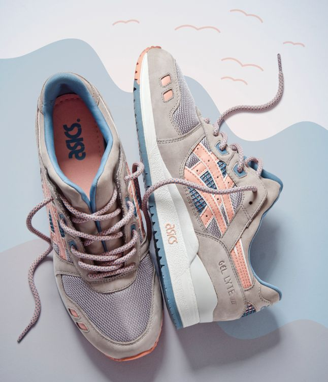 RONNIE FIEG FLAMINGO ASICS GEL LYTE II