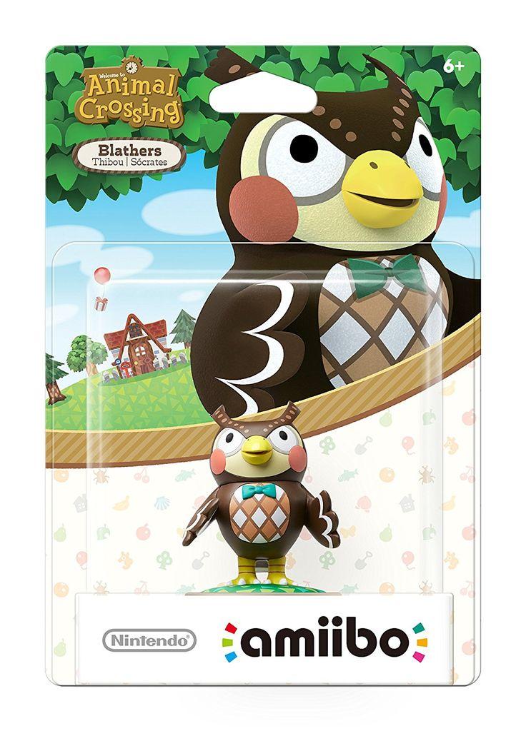 Nintendo Animal Crossing Blathers Amiibo figure. Buy here