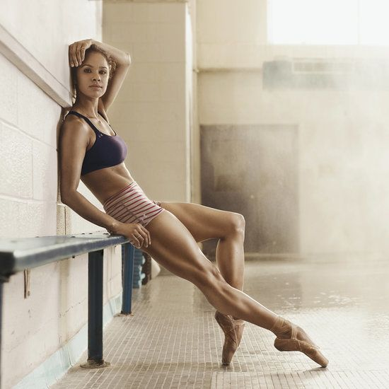 Ballerina Misty Copeland Shows Her Body Toning Moves #ballet #exercise #tone