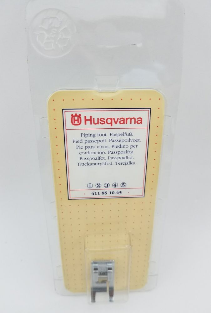 Viking Husqvarna Piping Foot 4118510-45 Fits 1 2 3 4 5 Stock# D6 | Crafts, Sewing, Sewing Machine Accessories | eBay!
