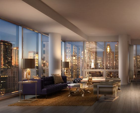 looks like NYC penthouse I stayed in