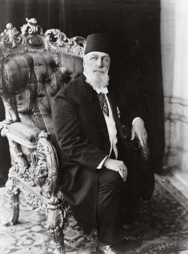 Abdulmecid II. The Last Ottoman Caliph Of Islam. 1923.