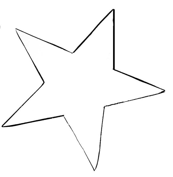Best Stars Images On   Star Patterns Star Template