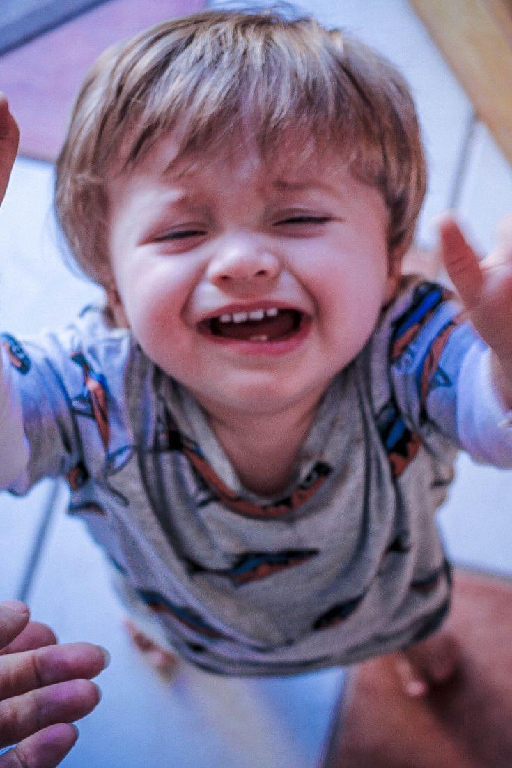 Warum man ein Kind nicht für einen Wutanfall bestrafen sollte