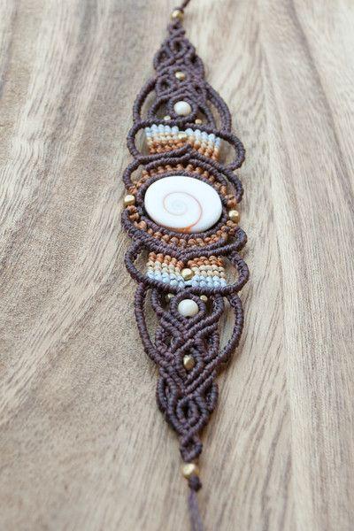 Armbänder - Armschmuck Mama Natur ✿ Mikro-Makramee ✿ - ein Designerstück von maraba_design bei DaWanda