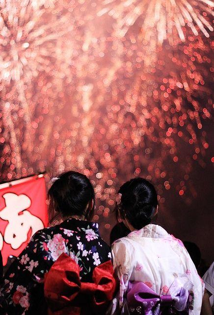 """Summer Fireworks"" by Hari Kiraku"