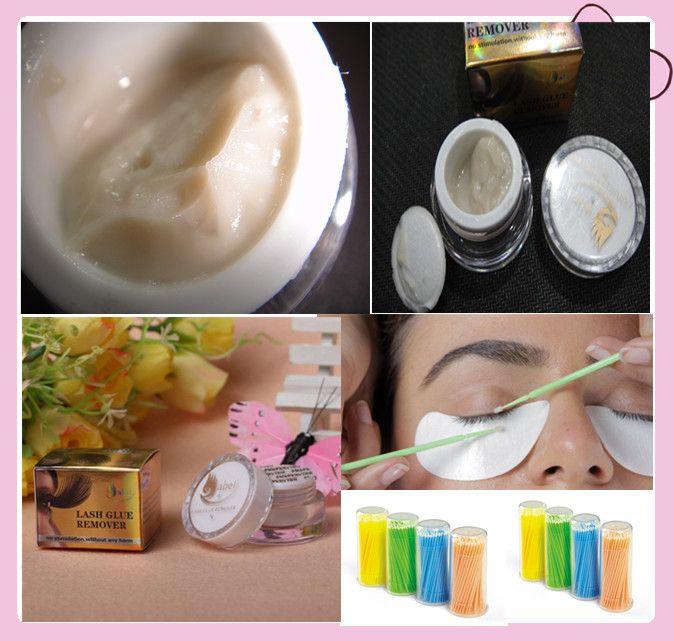 removable glue eyelash glue removal eyelash extension remover china