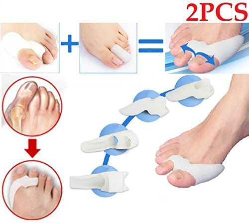 Reactionnx Toe Spacers Set, Toe Separators for for Nail