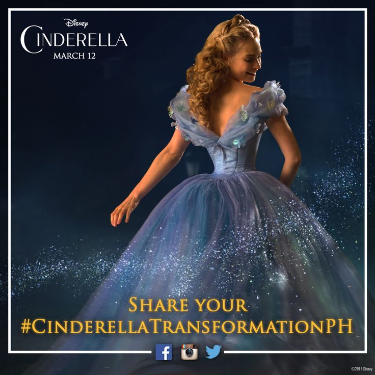 Just as Cinderella transformed in to a princess, so can you! Share and showcase your transformation into any character from Disney's Cinderella with #CinderellaTransformationPH #CinderellaStyle Competition rules and T&Cs here: http://ow.ly/JNIUf
