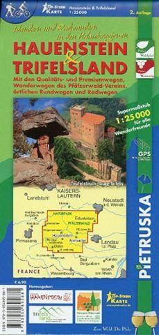 Hauenstein Trifelsland Wanderkarte 1:25.000