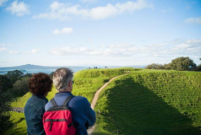 Mount Eden - Maungawhau | Volcanoes in Auckland