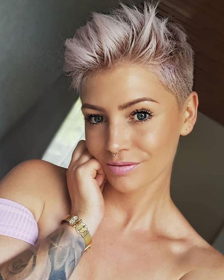 Wunderschöne Kurz Haar Modelle für Damen 2018