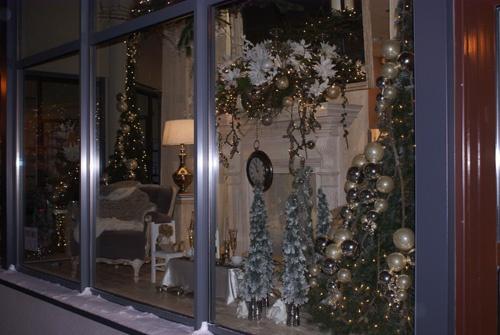 Wystawa świąteczna, Boże Narodzenie 2012. Wystawa sklepowa.