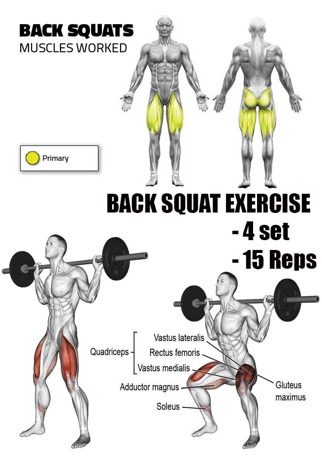 "SQUATS FRONT & BACK SQUAT | "" A fun weight loss, journey ..."