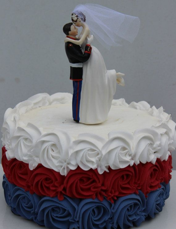 military wedding cake toppers uk