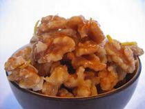 Orange Glazed Walnuts