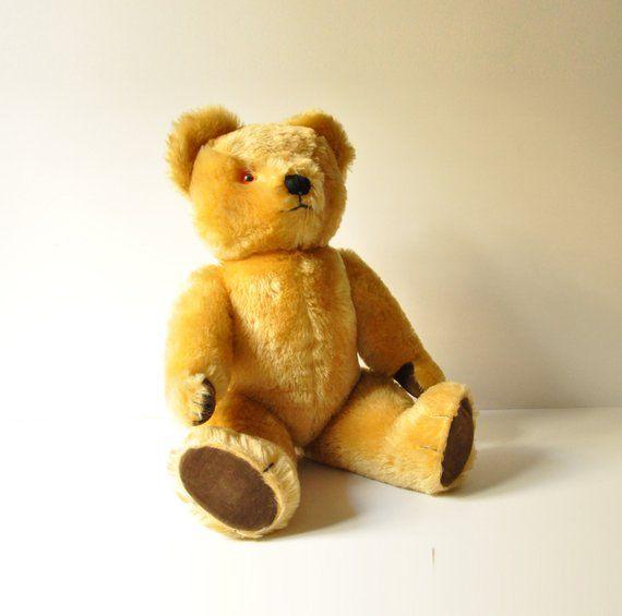 Bears old 1950s teddy Antique Teddy