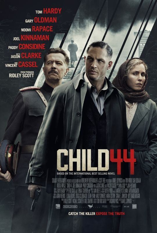 Tom Rob Smith's thriller, Child 44, hits theatres April 17, 2015. Check out the audio or ebook here!