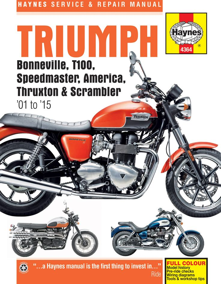 120 best my bike 2017 images on pinterest custom motorcycles haynes m4364 repair manual for triumph bonneville t100 speedmaster america t fandeluxe Choice Image