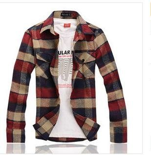 Free-shipping-2021-Fashion-men-autumn-winter-thick-100-Cotton-Plaid-shirt-s-Long-sleeve-men.jpg 309×319 pixels