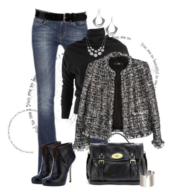"""Vintage Chanel Blazer"" by johnna-cameron on Polyvore"