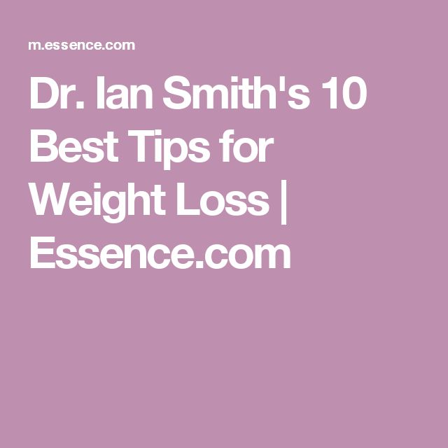 Tips For Effective Weight Loss: 1000+ Ideas About Dr Ian Smith On Pinterest