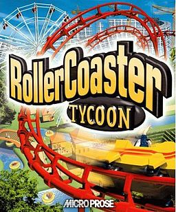 Rollercoaster Tycoon, recreating your own themepark, what does a youngster want more?!  I went weeeee with the rollercoasters ^^ It was business...