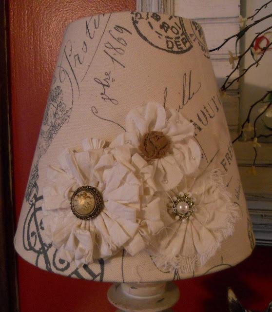 Darling lampshade redo {createinspire}                                                                                                                                                     More