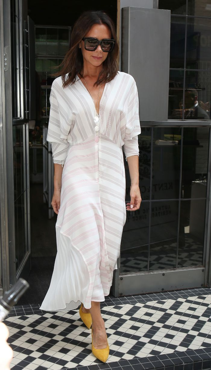 a0d634a682c9 All-White Outfit Ideas Inspired by Our Favorite Celebs via @WhoWhatWearUK