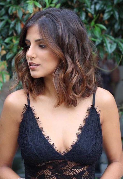 Sehen Sie hier die schönsten Ideen für erstaunliche schulterlange Ombre-Frisuren und ha … #mysterious #styles # Ideas #ombre