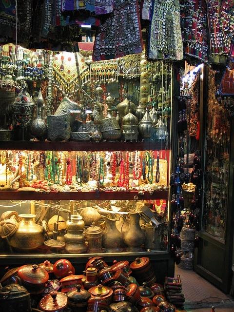 Underground Grand Bazaar in Istanbul ~~ Turkey