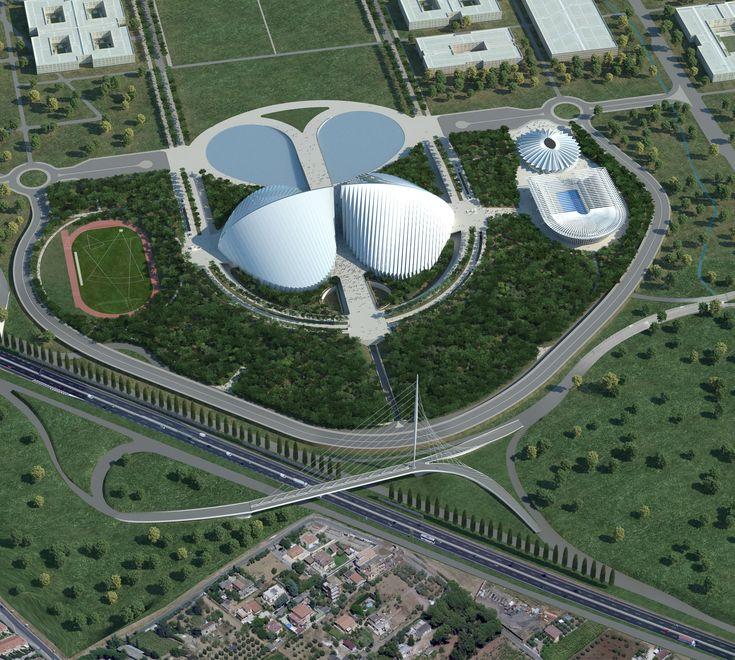 Universitàdegli Studi di Roma Tor Vergata / Rome (Gallery) - Santiago Calatrava – Architects & Engineers