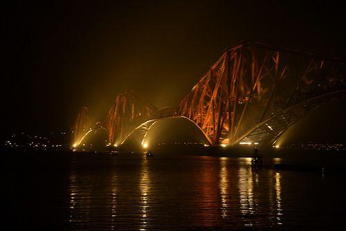 All sizes | Rail Bridge at Night | Flickr - Photo Sharing!