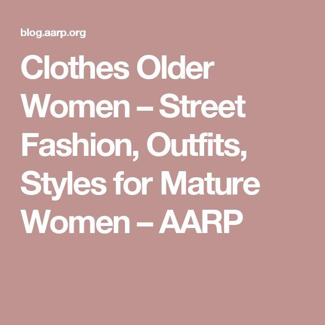 1000 Ideas About Older Women Fashion On Pinterest Older