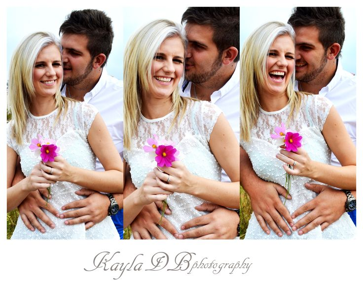Engagement photo shoot with beautiful models in a Kosmos field. Autumn photo shoot beauty!