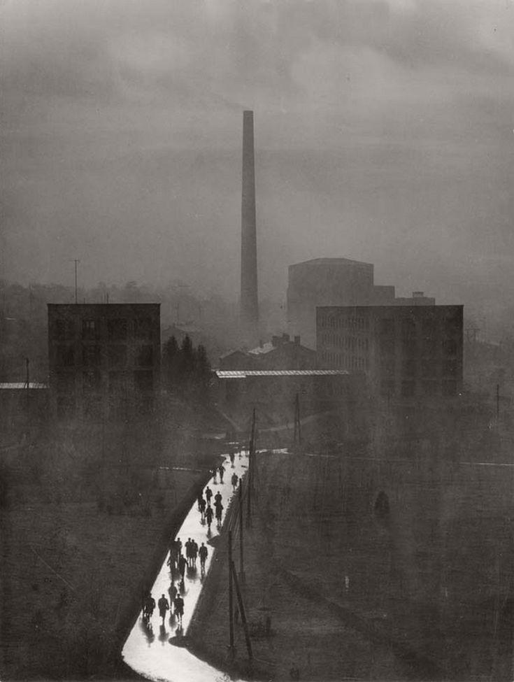"""flashofgod: """"Ernő Vadas, Smelter, 1955. """""""