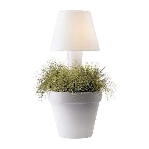 Elho Pure TwiLight Blumentopf mit Licht