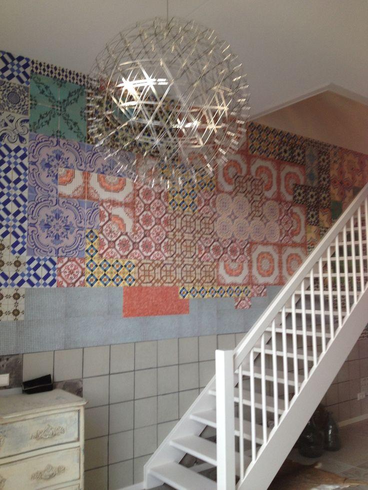 17 beste afbeeldingen over carta da parati op pinterest mandala 39 s zoeken en muurschilderingen - Deco leisteen muur ...