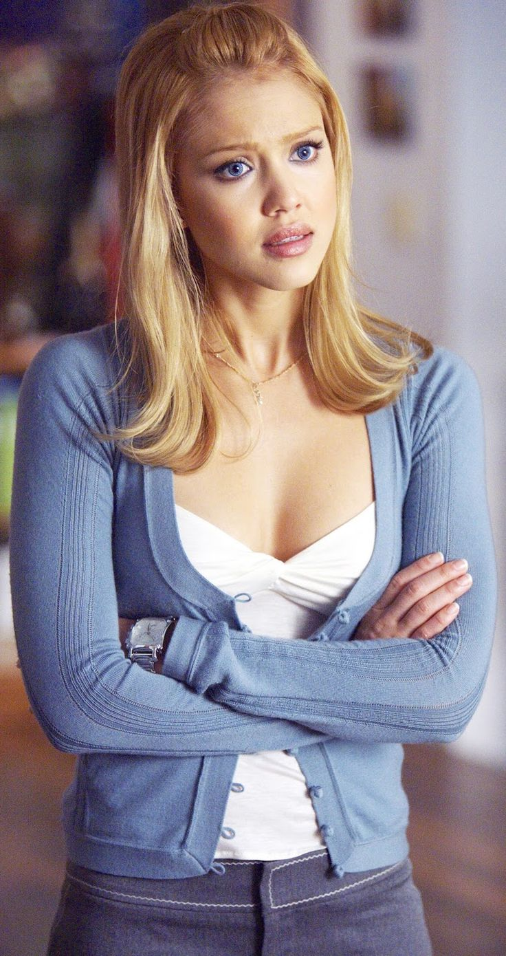 N°14 - Jessica Alba as Sue Storm / Invisible Woman - Fantastic Four by Tim Story (2005)
