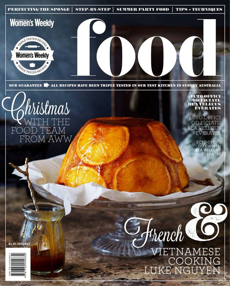 Mockup cover concepts for an Australian Food Magazine. More work at www.hieunguyendesign.com