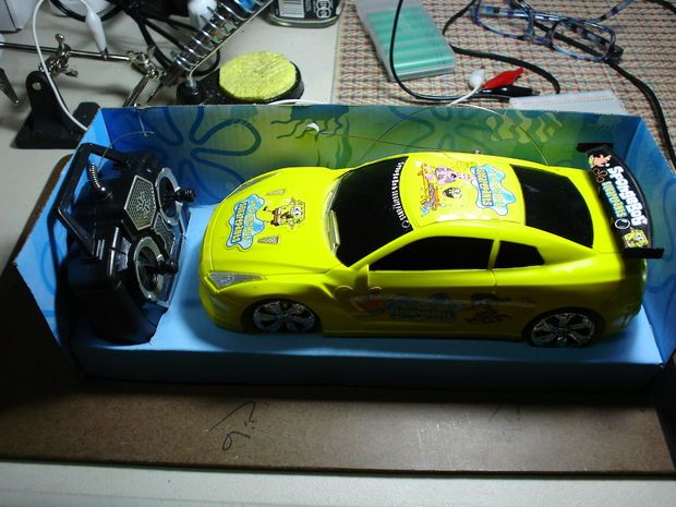 Picture of Arduino controls cheap RC car transmitter