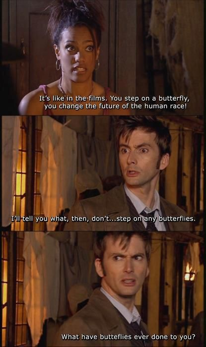 Doctor Who, Butterfly, Martha Jones