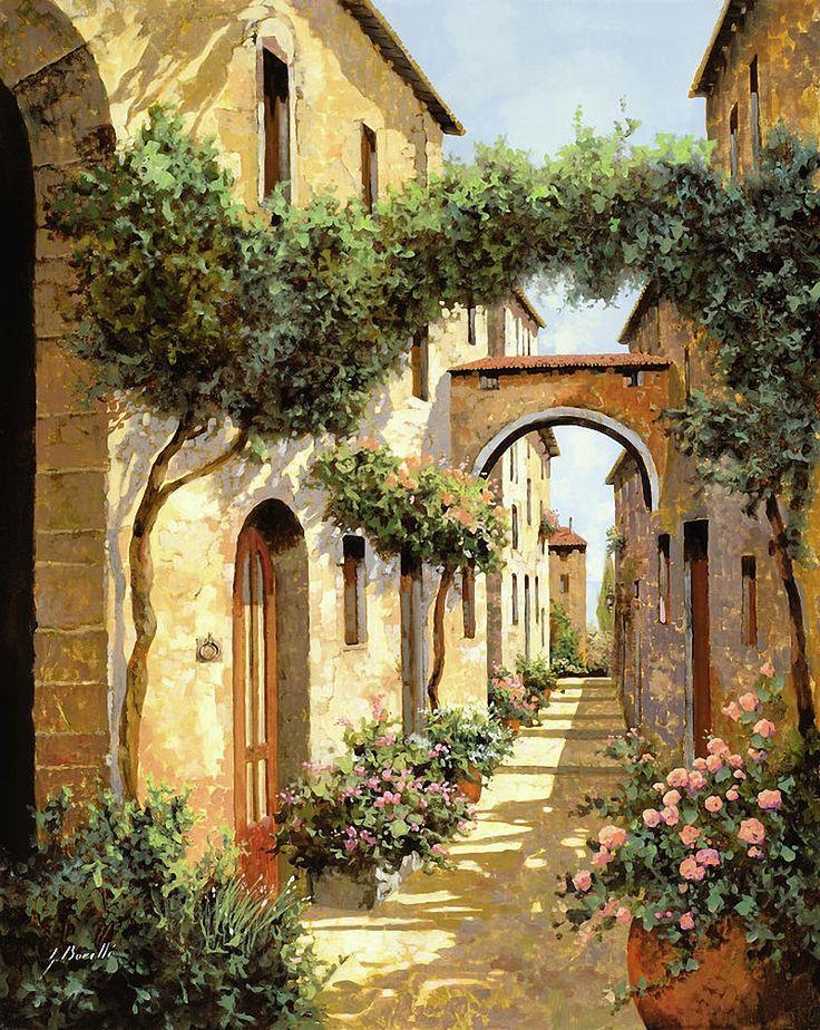 красивые картинки итальянских улочек
