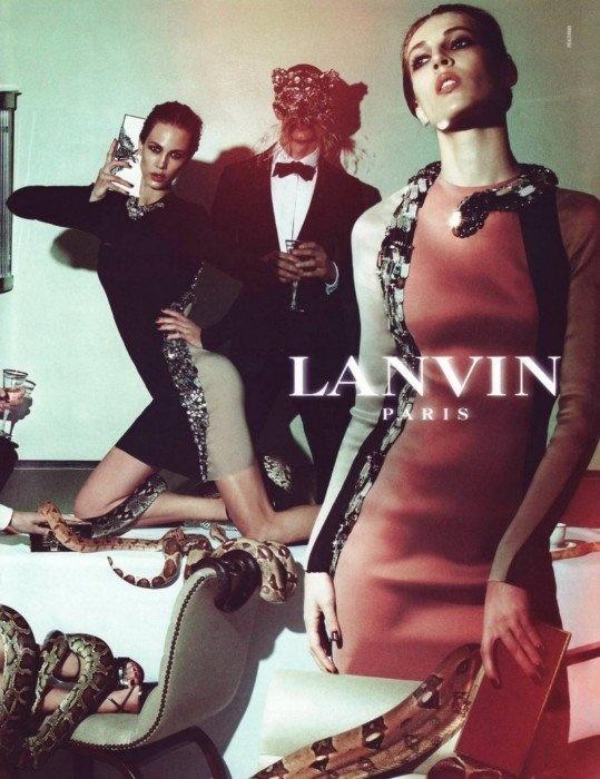 Favorite Lanvin ad ever.